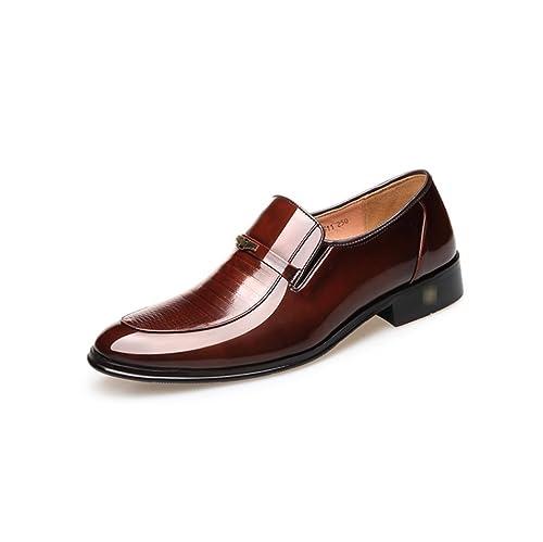 Zapatos De Cuero para Hombres Trajes De Negocios Zapatos De ...