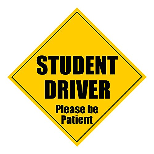 Zone Tech Student Driver Please Be Patient 5