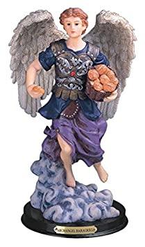 StealStreet SS-G-312.53 Archangel Barachiel Holy Figurine Religious Decoration Decor, 12