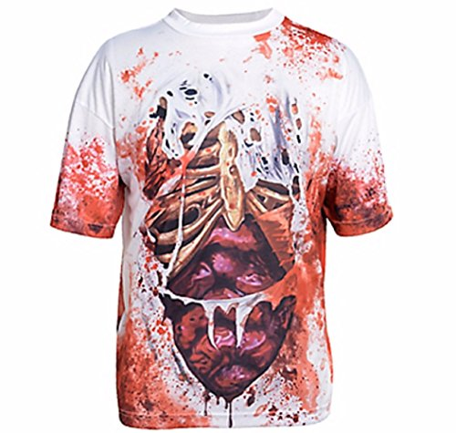 Walking Illusion Costumes (Illusion Guts T-Shirt Costume - X-Large - Chest Size 46)
