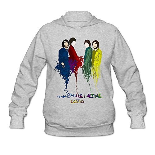 [AK79 Women's Sweatshirt Panic At Poster Disco Size M Ash] (Monster High Costumes At Party City)