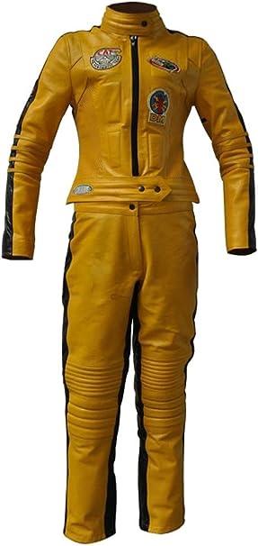coolhides UMA Thurman Kill Bill - Disfraz de Mujer de Piel ...