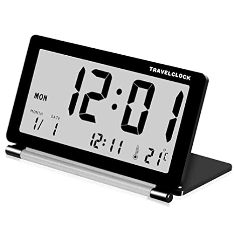 Dewanxin Alarmas Digitales De BateríA, PequeñOs Relojes ...