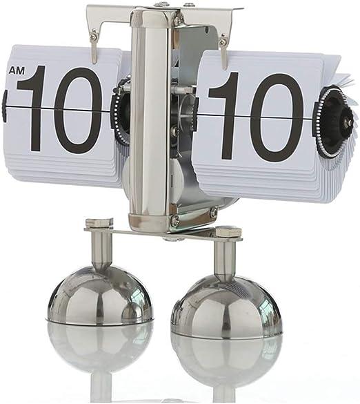 KJH Reloj de Mesa, Reloj De Mesa Vintage, Retro Tirón del Reloj ...
