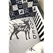 Baby Nursery Set , Baby , Woodland , Buck , Plaid , Deer , Baby Bedding , Crib Bedding , Babylooms