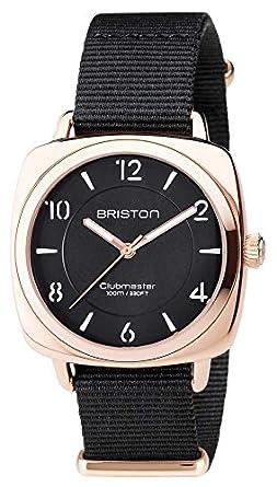Briston Unisex clubmaster chic schwarz pvd rose gold 17536.SPRG.L.1.NB