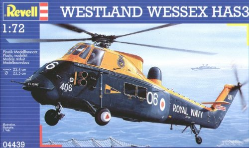 Revell 1/72 Westland Wessex HAS 3 Royal Navy