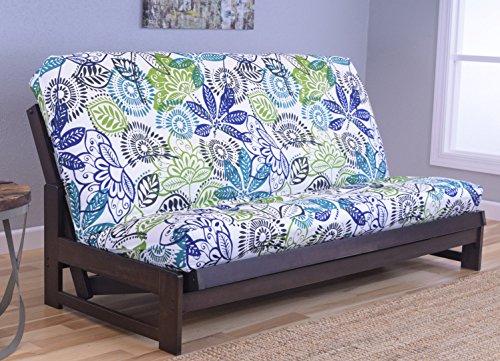 Kodiak Furniture Aspen Futon Set with Reclaim Mocha Finish, Bali, Full Futon Furniture Sets