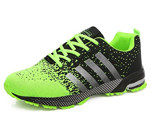 de Maratón Calzado 46 XIE Deportivo Zapatillas Respirable Zapatos green Aire Zapatos de 39 Deportivos q15xpTx