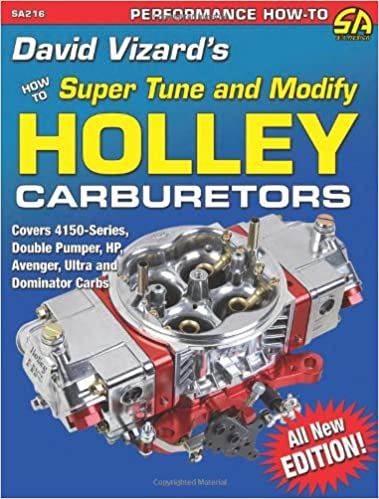 David Vizard's How to Super Tune and Modify Holley