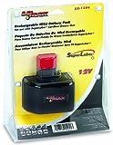 Lumax LX-1164 Black Ni-Cd 1500 mAh 12V DC Battery Cartridge