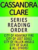 download ebook cassandra clare — series reading order (series list) — in order: city of heavenly fire, city of lost souls, city of fallen angels, city of glass, city of ashes, city of bones & all others! pdf epub