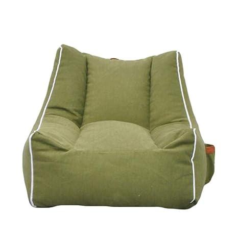 Astounding Amazon Com Bean Bag Chair Adult Lazy Sofa Lounger High Back Theyellowbook Wood Chair Design Ideas Theyellowbookinfo