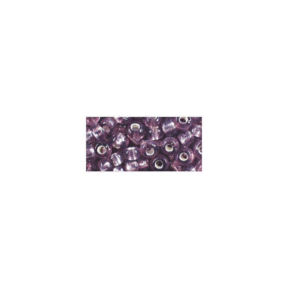 mit Silbereinzug Rayher 1430139 Glasstifte 2x2 mm lila Dose 16 g