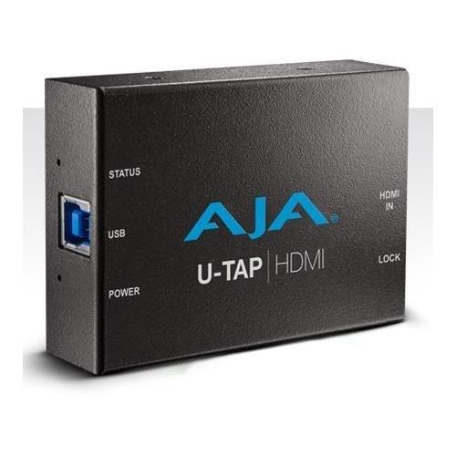 (AJA U-TAP HDMI Simple USB 3.0 Powered HDMI Capture)