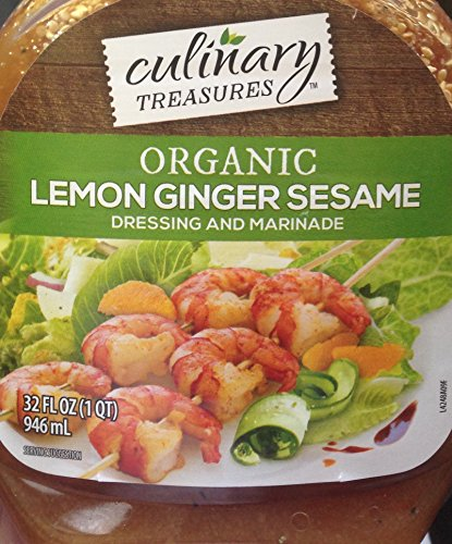 Organic Lemon Ginger Sesame 32 oz. (Sesame Ginger Dressing)