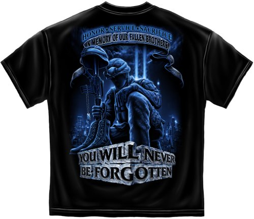 Never Forget Fallen Soldier T Shirt MM110