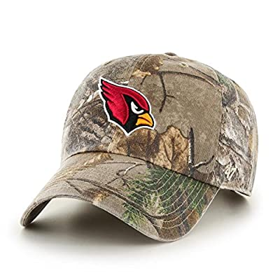 '47 Adjustable Realtree Arizona Cardinals Camo Clean Up Hat by '47 Brand