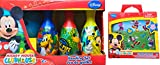 mickey clubhouse bowling set - Mickey Mouse Clubhouse Bowling Set Gift Set with Mickey Mouse Clubhouse Sticker Fun Pack the Perfect Mickey Mouse Gift Set
