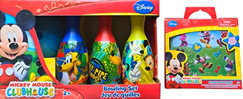 mickey clubhouse bowling set - 9