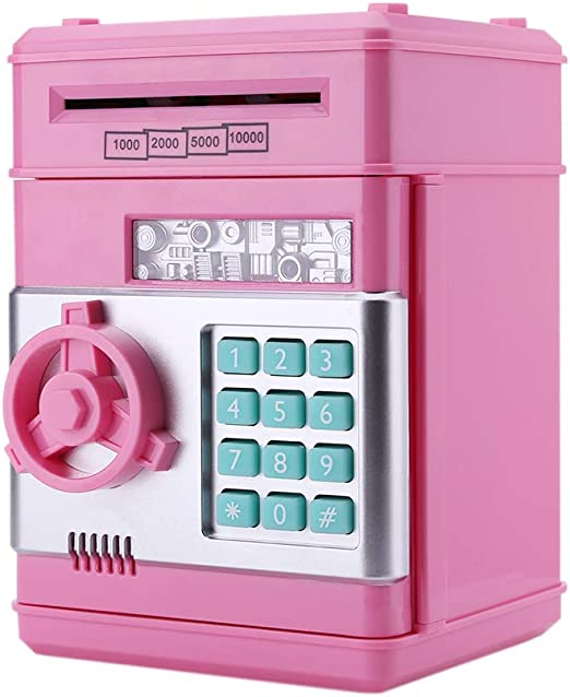 InnerSetting ATM - Hucha con contraseña para niños, caja ...