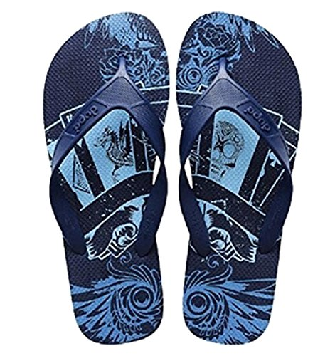 Azul de Azul Caucho Hombre para Sandalias Dupè wFHUPxYq