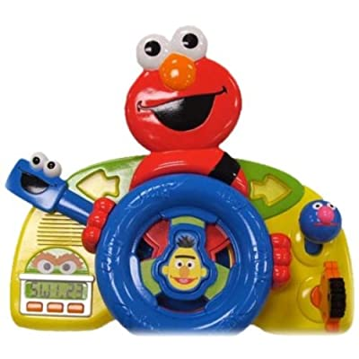 Fisher-Price Sesame Street Giggle 'n Go Driver - Elmo (Discontinued): Toys & Games