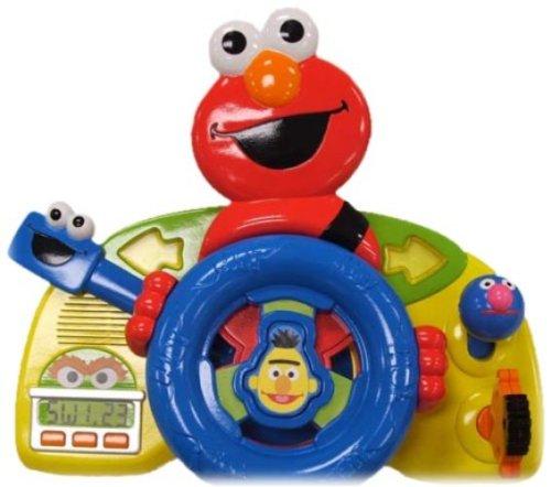 Fisher-Price Sesame Street Giggle N Go Driver - Elmo Giggle Elmo