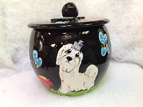 Treat Jar for Pets personalized at no charge and signed by Artist, Debby Carman by Faux Paw Productions, Inc., Laguna Beach, CA