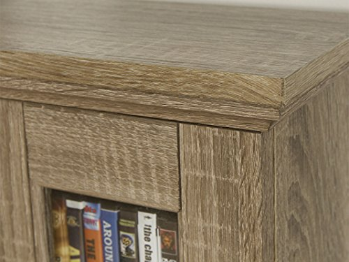 WE Furniture 41'' Wood Media Cabinet - Driftwood by WE Furniture (Image #1)
