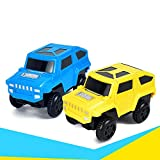 shiYsRL Funny Magic Track Plastic Electronic Car Kids Children Educational Toy Gift