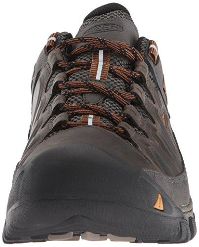Keen Herren Targhee Iii WP Trekking-& Wanderhalbschuhe Mehrfarbig  (Black Olive/golden Brown)