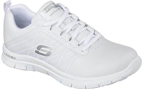 c4bee4405209e Zapatillas Skechers - Flex Appeal blanco talla  37