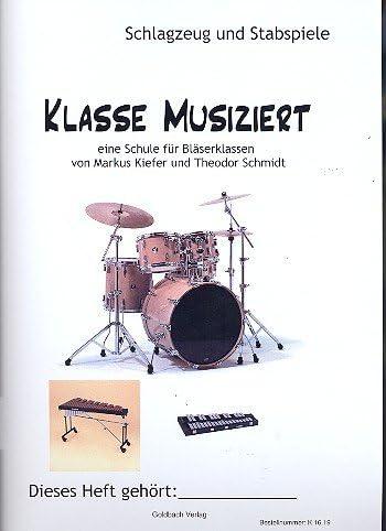 Clasificación musical: para clases de vasos de batería/juego ...