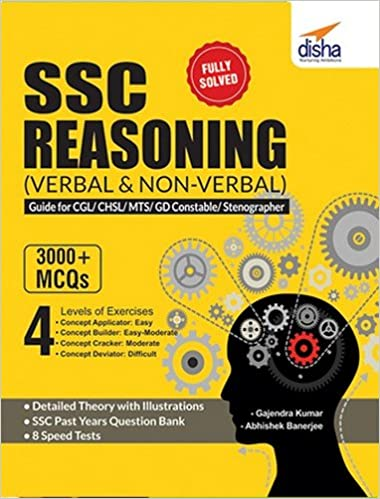 Reasoning Book For Ssc Cgl