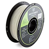 HATCHBOX PLA 3D Printer Filament, Dimensional Accuracy +/- 0.03 mm, 1 kg Spool, 1.75 mm, Glow in the Dark
