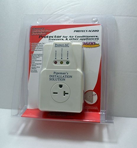 AC 220v Surge Brownout Voltage Protector 3600 Watts Air Conditioner Freezer