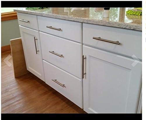 /Incluye Tornillos 25/pieza cocina armario puerta Tiradores Armario tirar ls201bss T Barra Mango Hohle Acero Inoxidable Muebles Tiradores OBF/