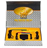 Kit King - Rod Seal Install Tool Set - 5 Piece Hydraulic U-Cup Twistor Installation Tool Set