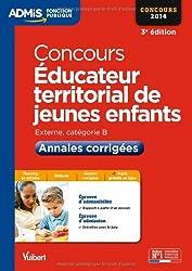 Concours Éducateur territorial de jeunes enfants - Annales corrigées - Catégorie B - Concours 2014 - Admis