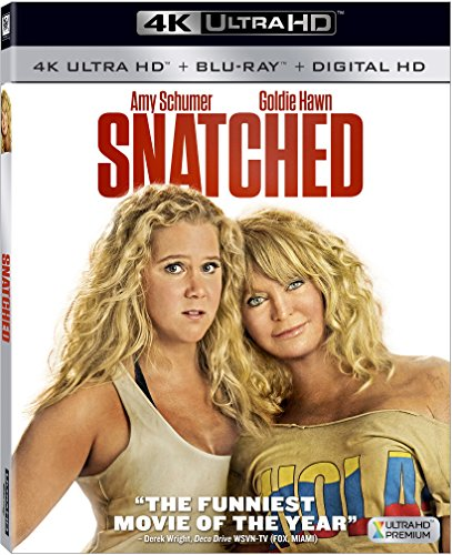 4K Blu-ray : Snatched (With Blu-Ray, 4K Mastering, Dubbed, , Widescreen)