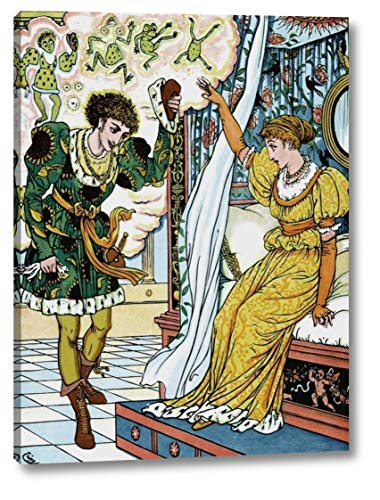 Frog Prince - The Transformation by Walter Crane - 17
