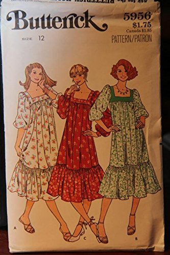 Uncut Vintage Butterick Pattern Dress - 3