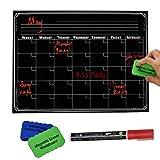 #9: PAPRMA Dry Erase Monthly Calendar Set for Kitchen Refrigerator / 16