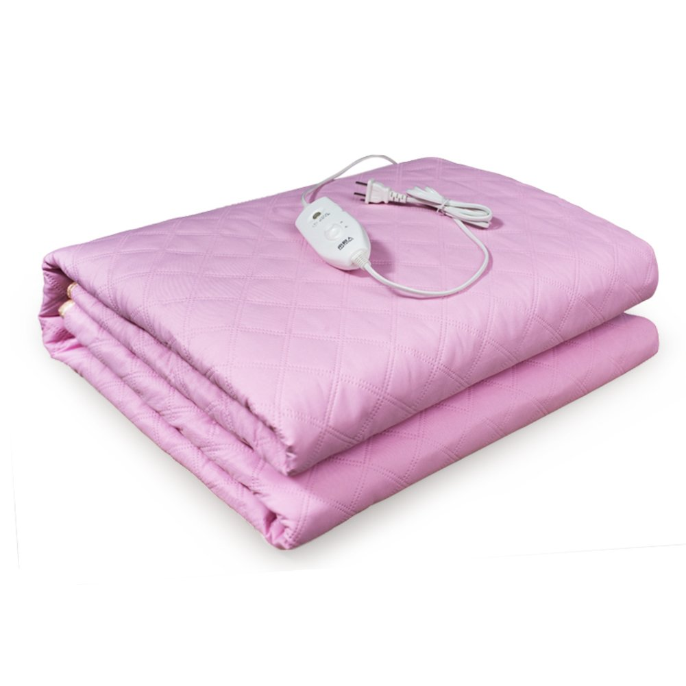 GX&XD Heated electric blanket,Heated blanket Electric throw double safety Household use Plush heated throw-B 150x180cm(59x71inch)