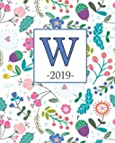 W.2019: Spring Flowers and Monogram W Weekly