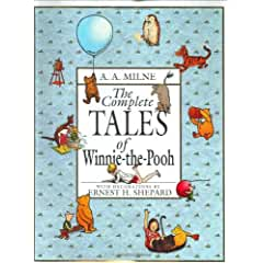 Image: The Complete Tales of Winnie-the-Pooh, by A. A. Milne (Author). Publisher: Dutton Books for Young Readers; 1st Thus. edition (October 1, 1996)