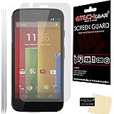 [Pack of 3] TECHGEAR® Motorola Moto G (XT1032) & Moto G 4G/LTE (1st Gen) ULTRA CLEAR LCD Screen Protectors (Not for Moto G4)