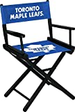 Wood and Canvas Folding Stool Imperial Officially Licensed NHL Merchandise: Directors Chair (Short, Table Height), Toronto Maple Leafs