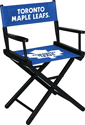 (Imperial Officially Licensed NHL Merchandise: Directors Chair (Short, Table Height), Toronto Maple Leafs)